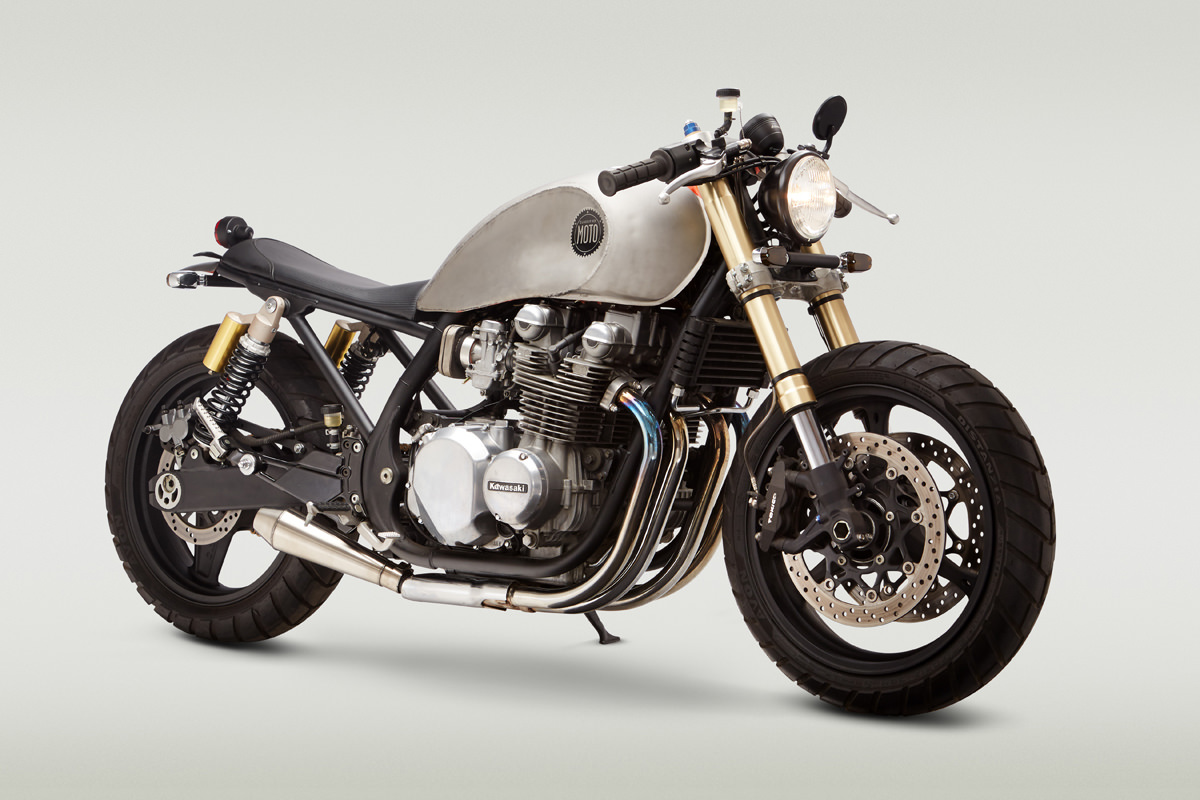 Kawasaki Zephyr Zr750 By Classified Moto The Garage Cafe