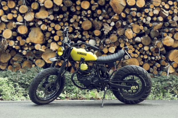 Yamaha TW125 Enter Sandman by Le French Atelier1