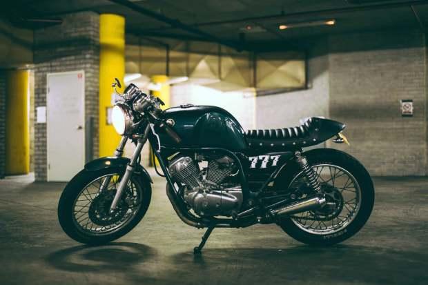 Yamaha SRV250 Cafe Racer by Shane Wahl